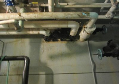 Troublesome Heating Supply Line