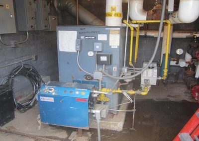 Greenhouse Gas-Fired Boiler